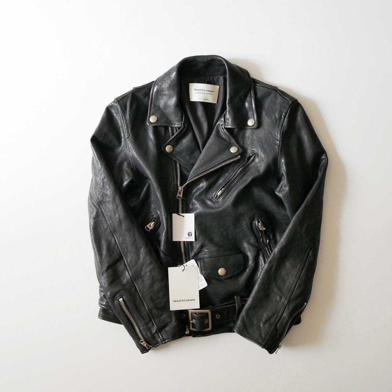 Shrinking leather jacket