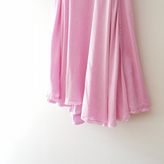 17SS MADISON BLUE マディソンブルー ドレステリア別注OVER DYED SKIRTスカート (2)