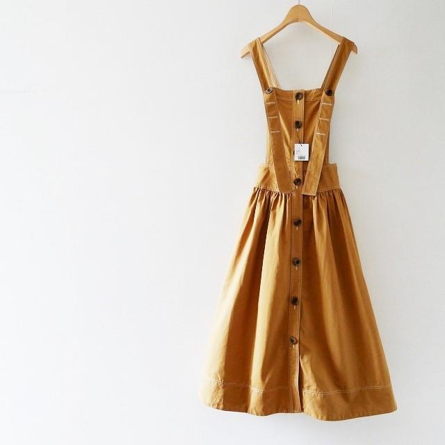 18SS yorヨリ チノサロペットスカート