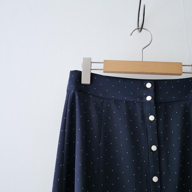 IENAイエナ ドット前ボタン スカート 18SS (2)