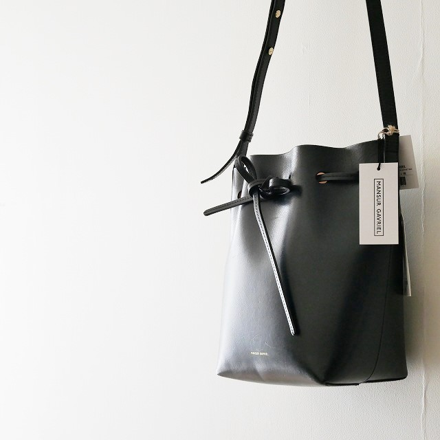 MUNSUR GAVRIER MINI BUCKET BAG