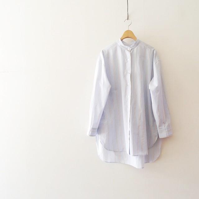 Whim Gazette Lanificio Cangioliストライプシャツ 2