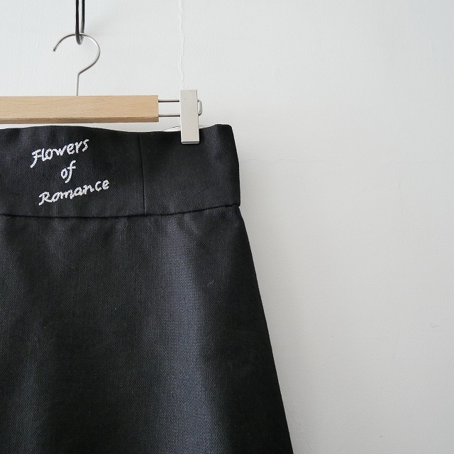 leur logette リネンナイロンツイルスカート 3