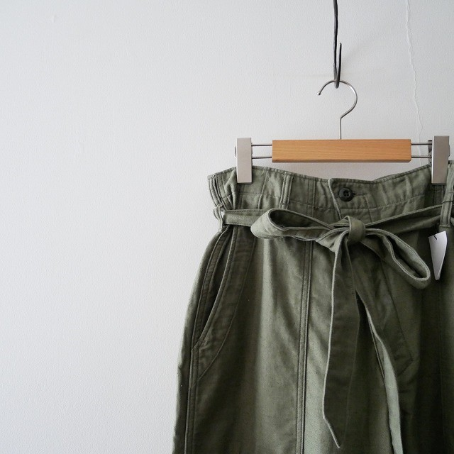 JANE SMITHジェーンスミス BELT BAKER PANTS ベイカーパンツ IENA 17SS (2)