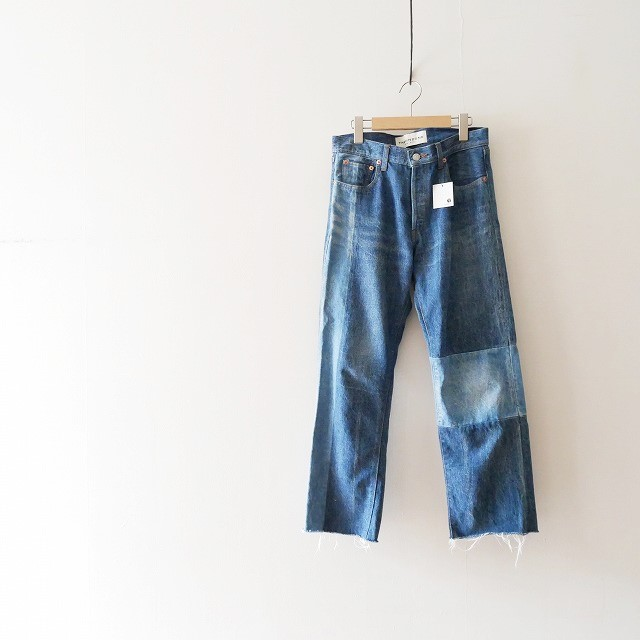 THE SHINZONE PATCED JEANS