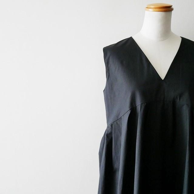 YOKO CHANヨーコチャン V neck Flared Dress ドレス ワンピース 18SS (2)