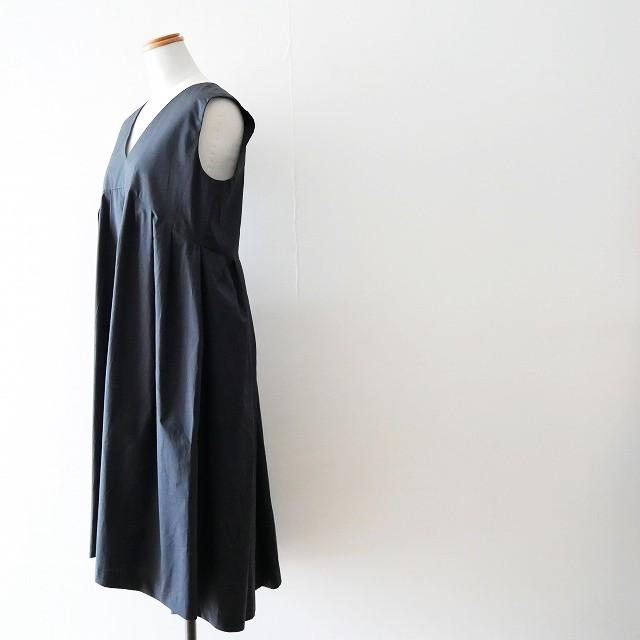 YOKO CHANヨーコチャン V neck Flared Dress ドレス ワンピース 18SS (3)