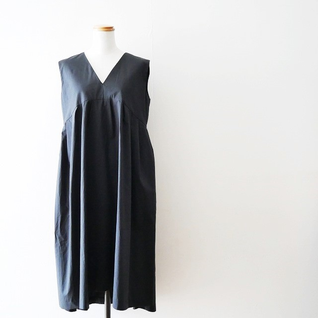 YOKO CHANヨーコチャン V neck Flared Dress ドレス ワンピース 18SS