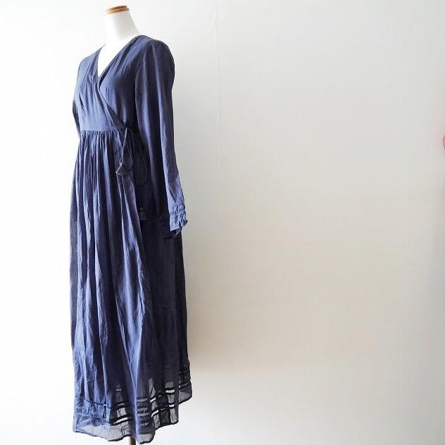 ne Quittez pasヌキテパ メタリックヤーンショルダー ポーチ cottonvoilcrossover gown ガウン 18SS (3)