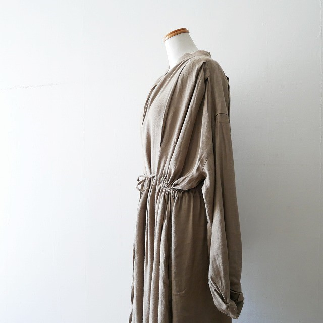 SEA Oversized Linen Dress 3