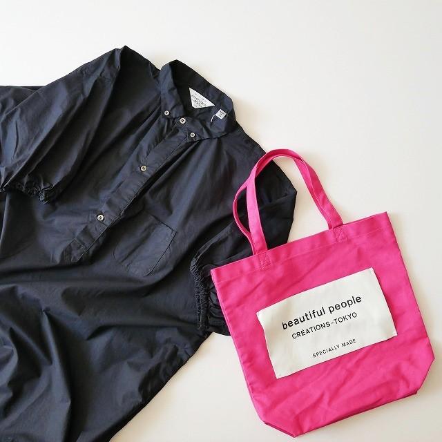 Americanaアメリカーナ ボタンダウン シャツ ワンピース beautiful peopleビューティフルピープル ネーム トート バッグ直営店限定 2017