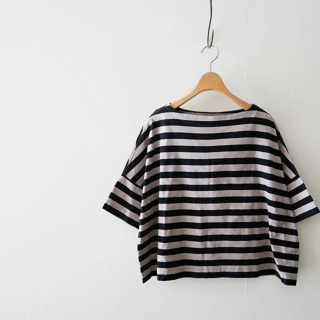 Traditional Weatherwear ビッグマリンボートネックT