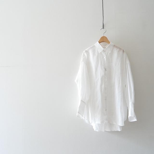 Whim Gazette ダブルカフスラミーシャツ 2