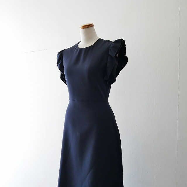 HAN Gathered-sleeve Dress