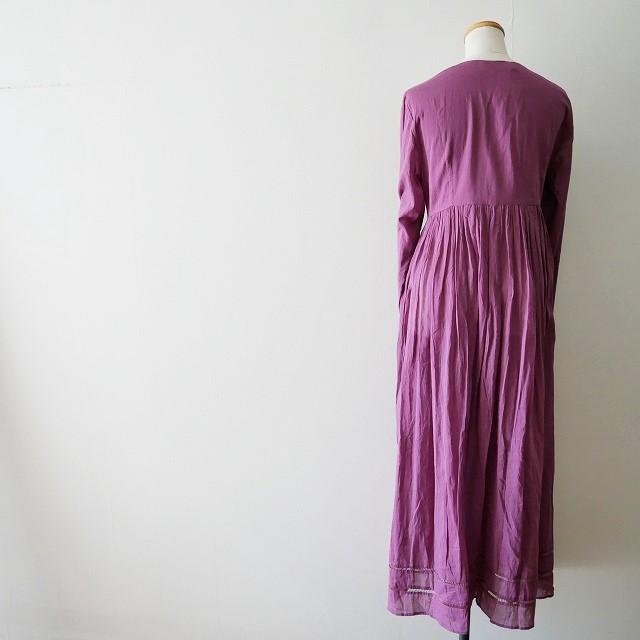 ne quittez pas Cotton voil cross over front gown 5