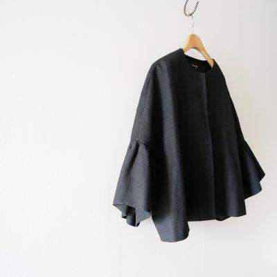 17SS-Drawerドゥロワー-フレアースリーブジャケット