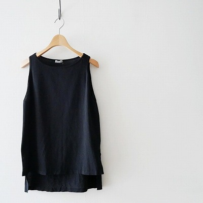 AURALEEオーラリー TWIST-KNIT-BOAT-NECK-LONG-TANK[1]