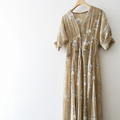TODAYFUL Sheer Flower Dress