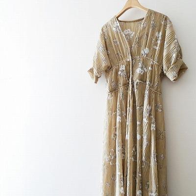 TODAYFUL Sheer Flower Dress