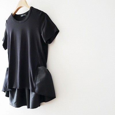 OKO-CHANヨーコチャン-Back-Gathered-Cut-sew-カットソー-18SS-2[1]