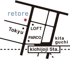 retoreへの地図