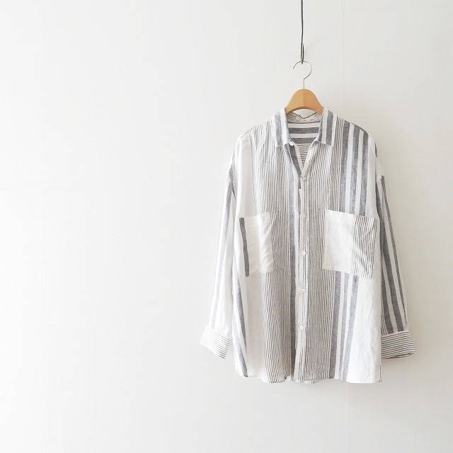 GALERIE VIE リネンビッグシャツ