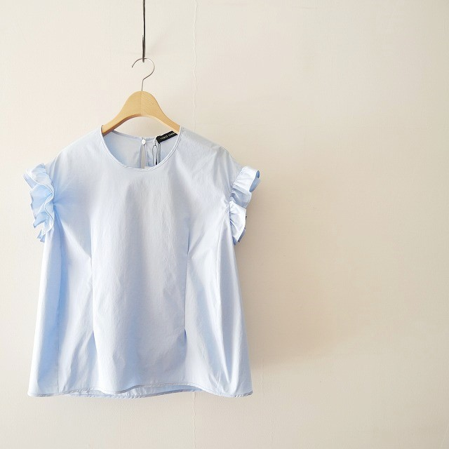 YOKO CHANヨーコチャン Gathered-sleeve Blouse ブラウス 18SS