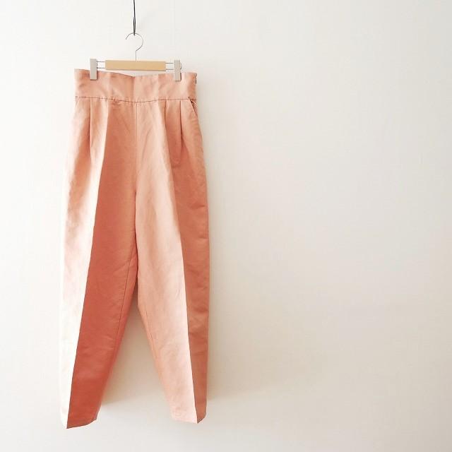 6 BEAUTY&YOUTH ロク ビューティー&ユース SATIN LACE-UP PANTS パンツ 2017