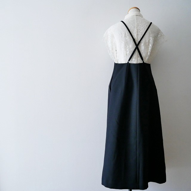IENAイエナ デザイン キャミ ワンピース 18SS (3)