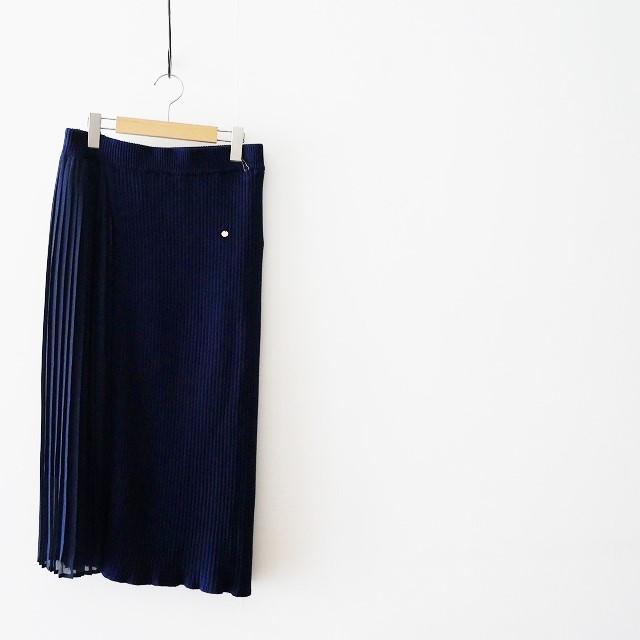 MUVEILミュベール プリーツコンビ スカート 18SS