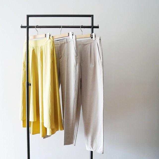 Plageプラージュ ドライオックス テーパード パンツ スカート