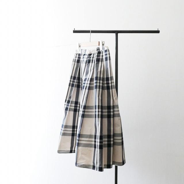 SOFIE DHOORE ソフィードール チェック プリーツ スカート 17SS