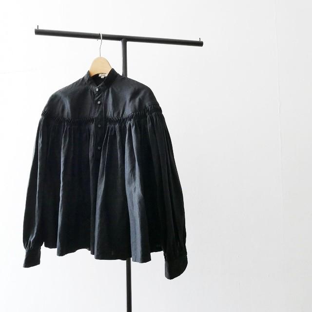 Scye サイ リネン 高密度 タックシャツ 18SS 17SS