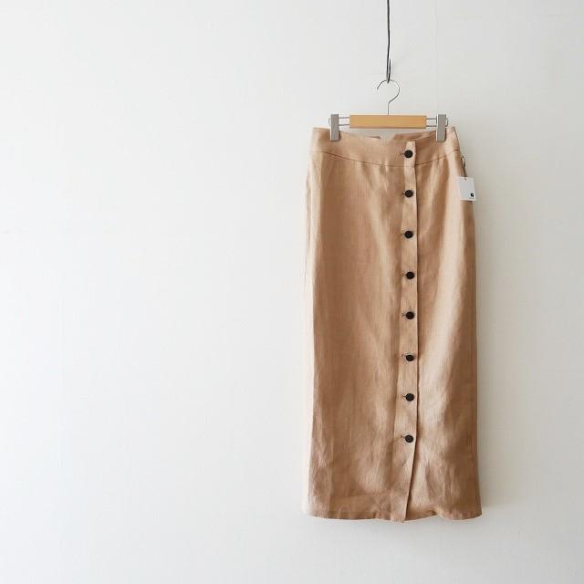 TODAYFUL Linen Buttonスカート