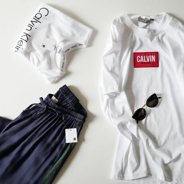 Carvin Klein CALVIN BOX LOGO TEE 1