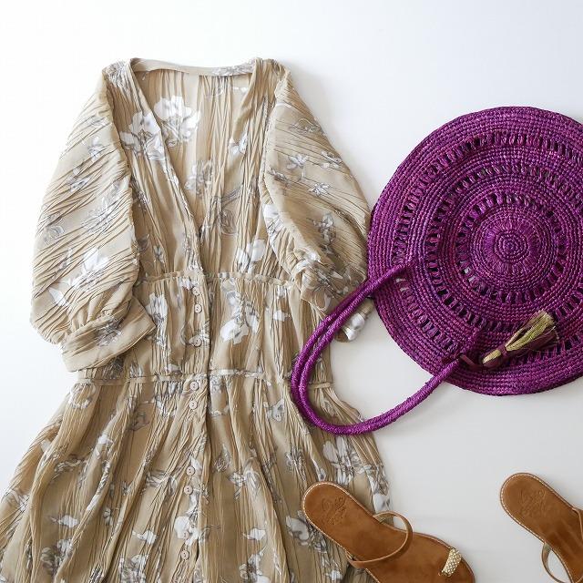 TODAYFUL Sheer Flower Dress 1