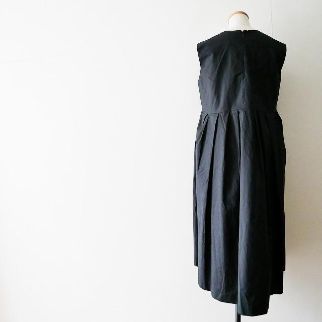 YOKO CHANヨーコチャン V neck Flared Dress ドレス ワンピース 18SS (4)