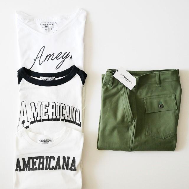Americanaアメリカーナ AP STUDIO Tシャツ THE SHINZONEシンゾーン ベイカーパンツ 18SS