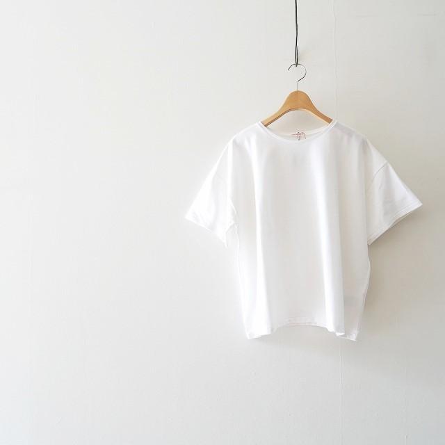DRESSTERIOR バスク天竺ハイツイストワイドTシャツ 3