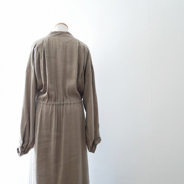 SEA Oversized Linen Dress 4