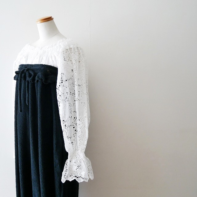 mikomoriミコモリ OFF SHOULDER PILE ALL-IN-ONE オールインワン 18SS (2)