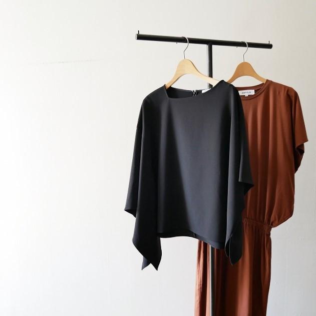 ENFOLD スビン天竺サークルドレープドレス 1