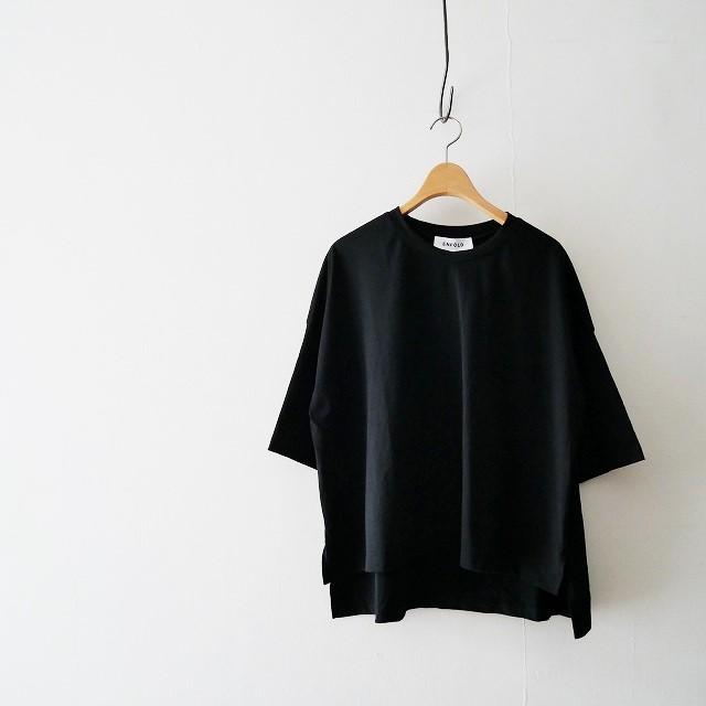 ENFOLDエンフォルド ハイカウントコットン1 BOX Tee Tシャツ 18AW
