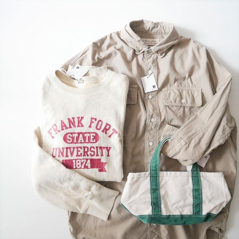 店舗新入荷情報:2020 L.L.BeanのCanvas tote bag miniやREMI RELIEFのCHAMBRAY シャツ等が入荷しました