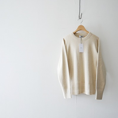 HYKE CC CREW NECK SWEATER ニット