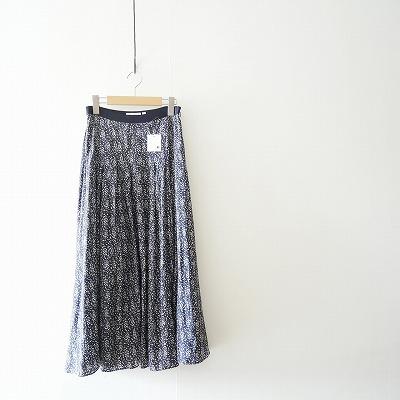 19 AW DRESSTERIOR ドットフラワープリントスカート
