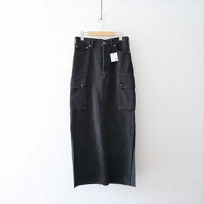 SPICK&SPAN【5 12】CARGO-LINE デニムスカート20AW