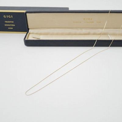 GIGI Gold line necklace 650mm 2020