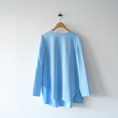 YOKO CHAN Long-sleeve Back Gathered Blouse 20AW