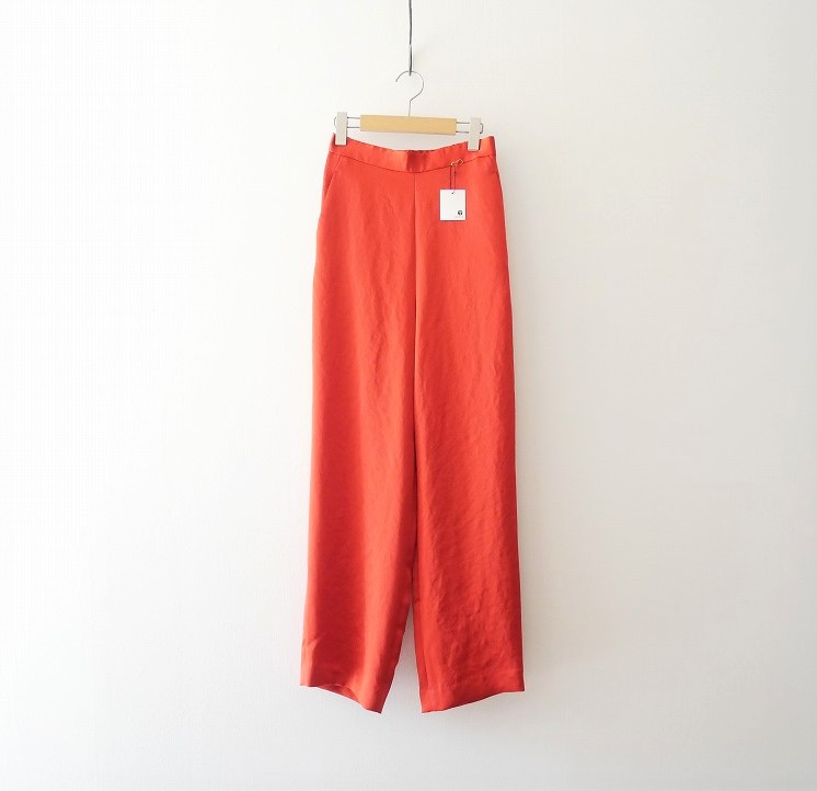 6 BEAUTY&YOUTH SATIN ZIP PANTS 21SS